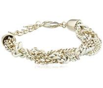 Damen-Armband Maelis gold/weiß 00626