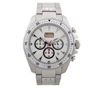 Chronograph Quarz Uhr mit Edelstahl Armband JC1G013M0045