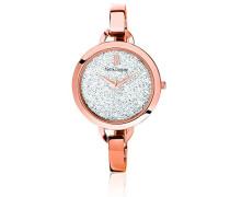 Analog Uhr mit Edelstahl beschichtet Armband 098J909