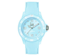 ICE sixty nine Pastel blue - Blaue Damenuhr mit Silikonarmband - 014239 (Medium)