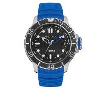 Analog Quarz Uhr mit Silikon Armband NAD18517G
