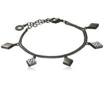 Jewelry Armband anthrazit Kristall Classic 16.5 cm weiß 601413042