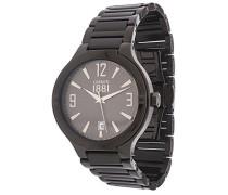 Cerruti Herren Armbanduhr Schwarz CRA106SB61MB