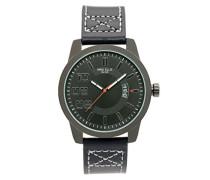 Armbanduhr Darkrace Analog Quarz Leder SM3132