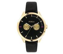 Analog Quarz Uhr mit Leder Armband R4251102501