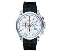 Armbanduhr Chronograph Quarz Schwarz 1635.9831999999999