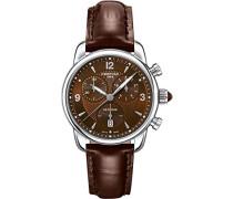 Armbanduhr XS Chronograph Quarz Leder C025.217.16.297.00