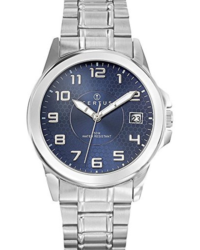 Herren-Armbanduhr Analog Quarz Silber 616222