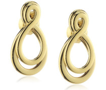 Damen-Ohrstecker Vergoldetes Metall 411895G0
