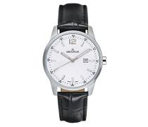 Unisex-Armbanduhr Analog Quarz Schwarz 7715.1533