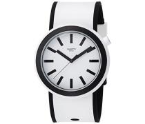 Analog Quarz Uhr mit Silikon Armband PNW100