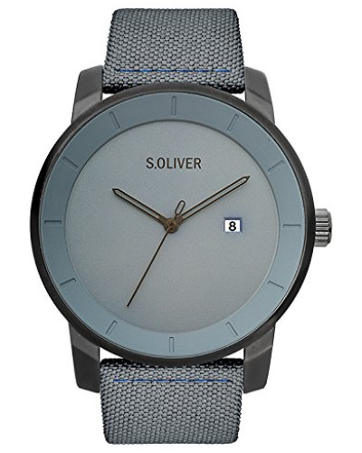 Erwachsene Analog Quarz Smart Watch Armbanduhr mit Nylon Armband SO-3570-LQ