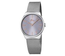 Analog Quarz Uhr mit Edelstahl Armband 18288/2