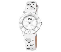 Unisex-Armbanduhr Analog Quarz Leder 18271/1