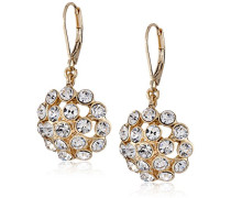 Dandelion Felder Gold, Glaskristall, Tropfenform