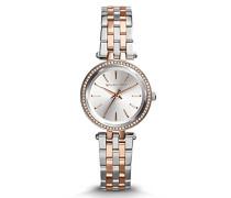 Analog Quarz Uhr mit Edelstahl Armband MK3323