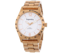 Armbanduhr Analog Quarz Edelstahl beschichtet SYL124RGM