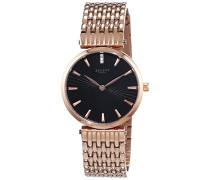 Armbanduhr XS Analog Quarz Edelstahl beschichtet 12210936