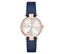 Damen Analog Quarz Uhr mit Leder Armband KL5007