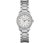 Highbridge Diamond 96W105 - Designer-Armbanduhr - Edelstahl
