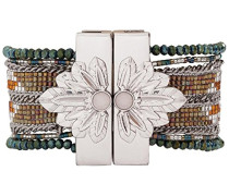Damen-Manschetten Armbänder Edelstahl E18LETERKA