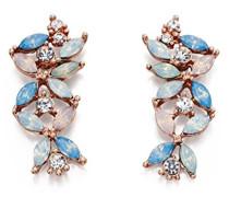 Ohrringe Metalllegierung Marquiseschliff pink/rosa Autre Cristal