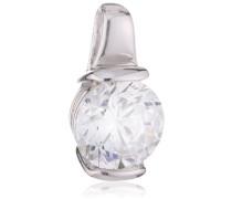 Anhänger Karat 925 Silber rhodiniert Zirkonia Brillantschliff weiß - 65/0637/1/082