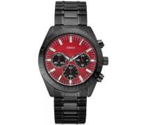 Damen-Armbanduhr Analog Quarz Edelstahl W16014G1