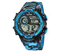 Digital Quarz Uhr mit Plastik Armband K5723/4