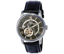 Erwachsene Analog Automatik Smart Watch Armbanduhr mit Leder Armband ES-8802-01