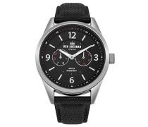 Multi Zifferblatt Quarz Uhr mit Nylon Armband WB069BB