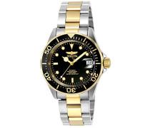 8927 Pro Diver Uhr Edelstahl Automatik schwarzen Zifferblat