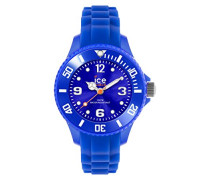 ICE forever Blue - Blaue Jungenuhr mit Silikonarmband - 000791 (Extra Small)
