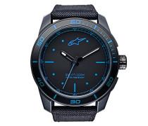 Analog Klassisch Quarz Uhr mit Nylon Armband 1017-96037