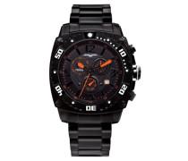 Herren-Armbanduhr Chronograph Quarz JG9800-12
