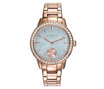 Analog Quarz Smart Watch Armbanduhr mit Edelstahl Armband ES109482003