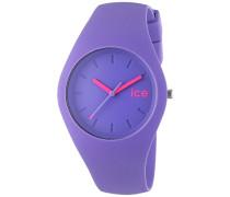 - ICE ola Purple - Lila Damenuhr mit Silikonarmband - 001235 (Medium)