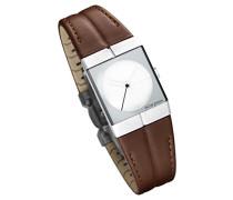 Damen Analog Quarz Uhr mit Leder Armband 243