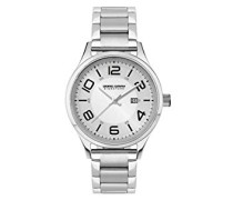 Armbanduhr XS Analog Quarz Edelstahl JGS2571B