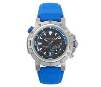 Datum klassisch Quarz Uhr mit Silikon Armband NAPPRH001