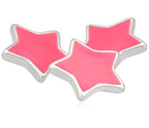 Jewelry Anhänger Druckknopf 3'er Set aus der Serie Snap versilbert pink 1.0 cm 431310007