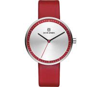 Damen-Armbanduhr Analog Quarz Leder 32283