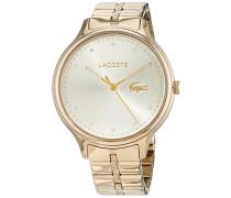 Datum klassisch Quarz Uhr mit Edelstahl Armband 2001008