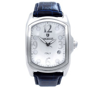 Herren-Armbanduhr Analog Quarz Leder 0200WODB