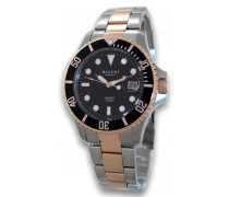 Armbanduhr Analog Quarz Edelstahl beschichtet 11160246