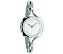 Damen-Armbanduhr Analog Quarz Edelstahl DW0140