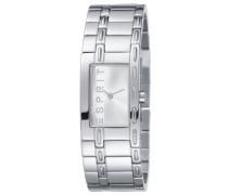 Damen-Armbanduhr XS Analog Edelstahl ES900512/001