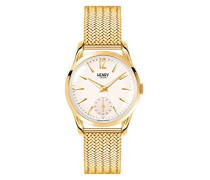 Armbanduhr Westminster Analog Quarz Edelstahl HL30-UM-0004