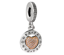 Damen -Bead Charms 925 Sterlingsilber 792082CZ