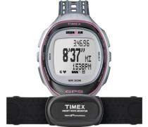 Armbanduhr XL Ironman Rund Trainer Digital Quarz Plastik T5K630